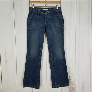 Tommy Hilfiger | Mid-rise Flare Jeans Size 4 Short